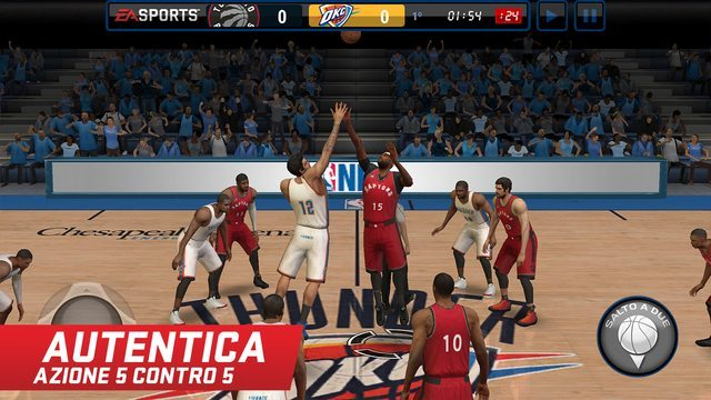 NBA LIVE Mobile gicohi per iphone avrmagazine 1