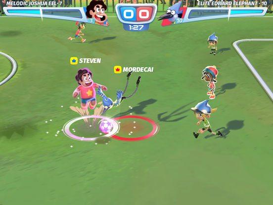 Cartoon Network Superstar Soccer gicohi per Iphone avrmagazine 1