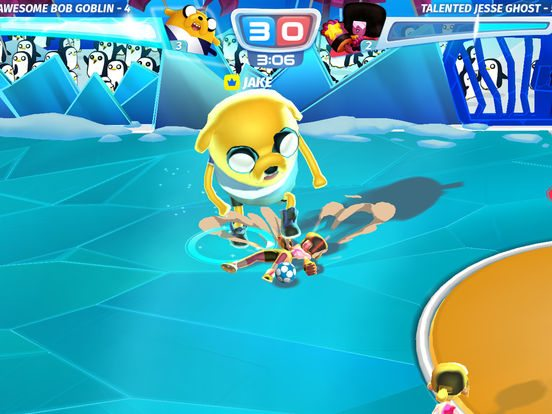 Cartoon Network Superstar Soccer gicohi per Iphone avrmagazine 2