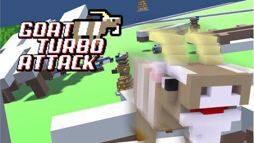 Goat Turbo Attack giochi per iPhone e iPad Avr magazine