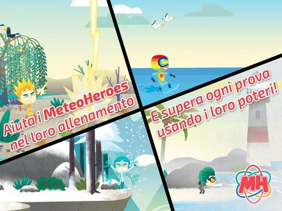 MeteoHeroes giochi per iPhone avrmagazine 2