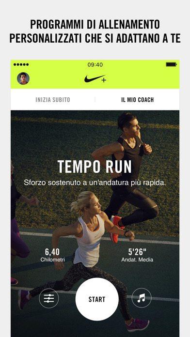 Nike+ Run Club applicazioni per iPhone 1
