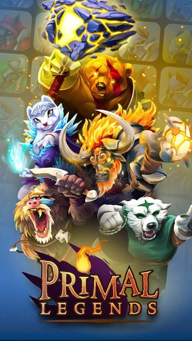Primal Legends gicoh per iPhone avrmagazine 1