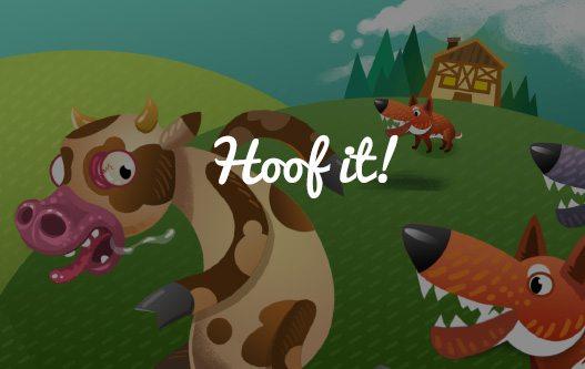 Hoof It! – Salva la mucca!  giochi per Android Avr magazine