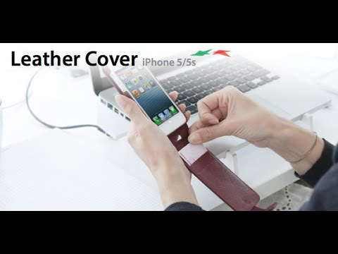 Leather Cover iPhone 5 e 5s
