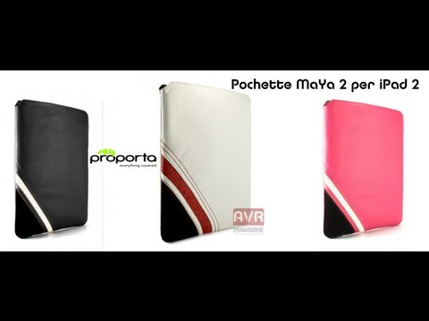 Pochette iPad 2 Proporta Maya II Sleep - Video Recensione AVRMagazine