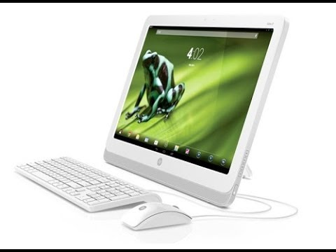HP Slate21 Computer Desktop Android Touchscreen All In One