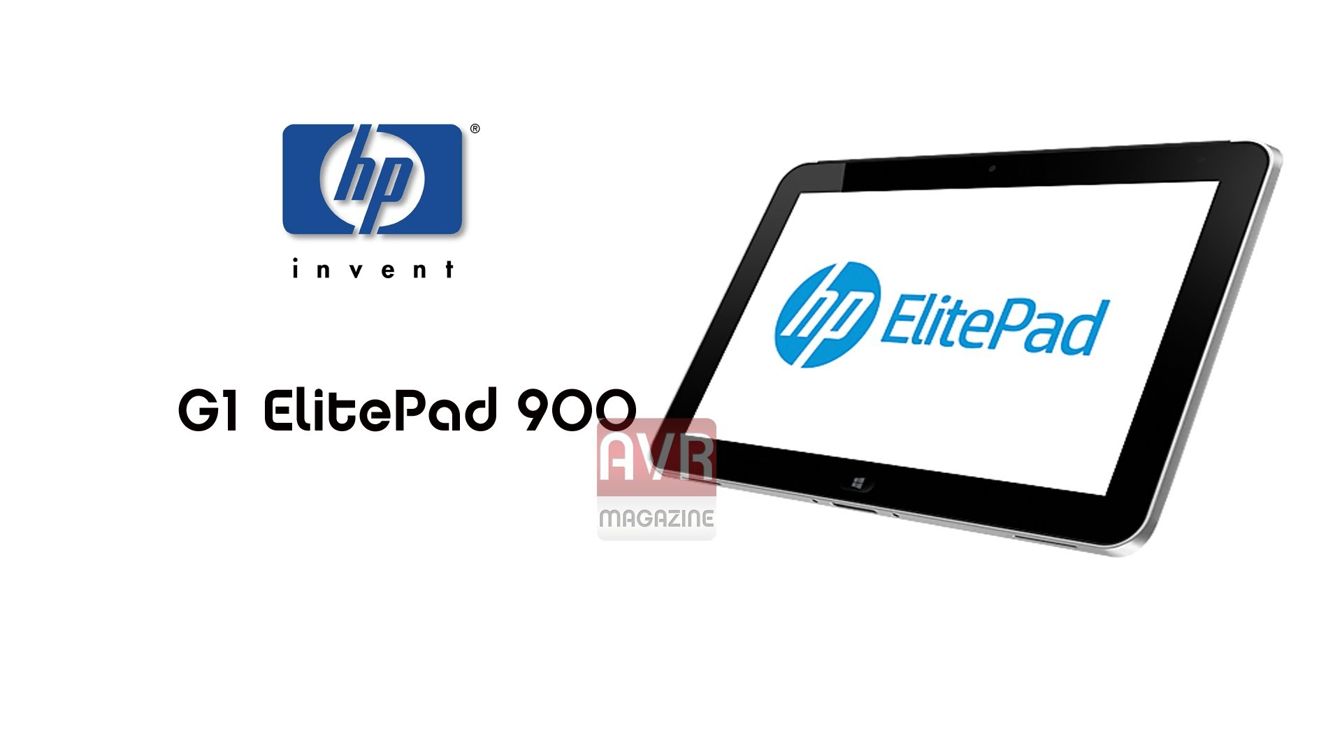 HP G1 ElitePad 900 - Ottimo tablet Windows 8 - Video Recensione AVRMagazine.com