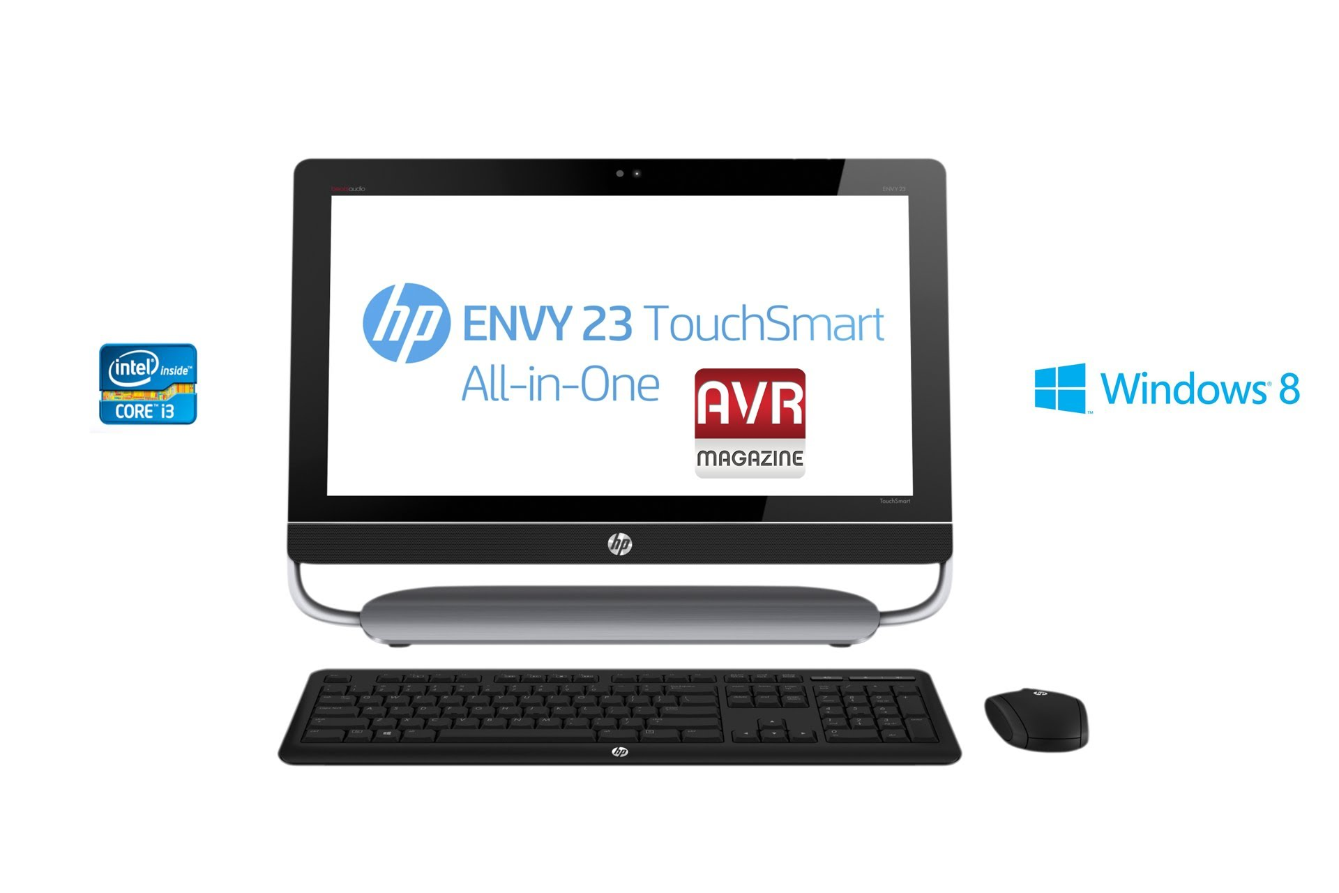 PC All-in-One Hp Envy 23 TouchSmart e Tv - Video Recensione AVRMagazine.com