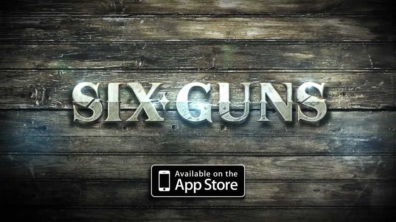 Six Guns gioco per iPhone e iPad con Multiplayer - Trailer