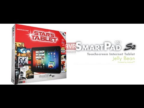 Mediacom Smart Pad 10.1 S2 un Incredibile Tablet Android 4.1 - Video Recensione