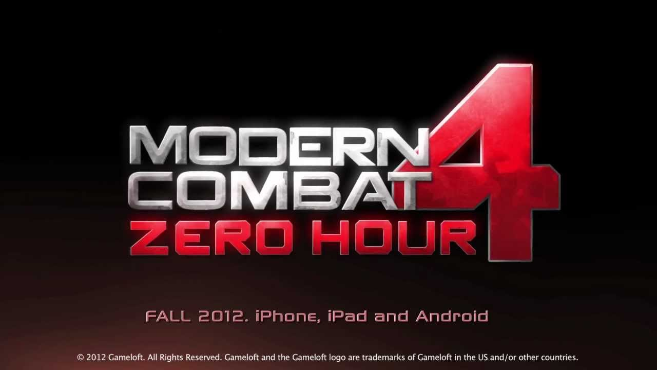 Modern Combat 4 Zero Hour gioco per iPhone 5 e Android - Trailer